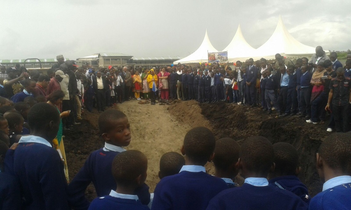 Secondary School Ground Breaking Ceremony