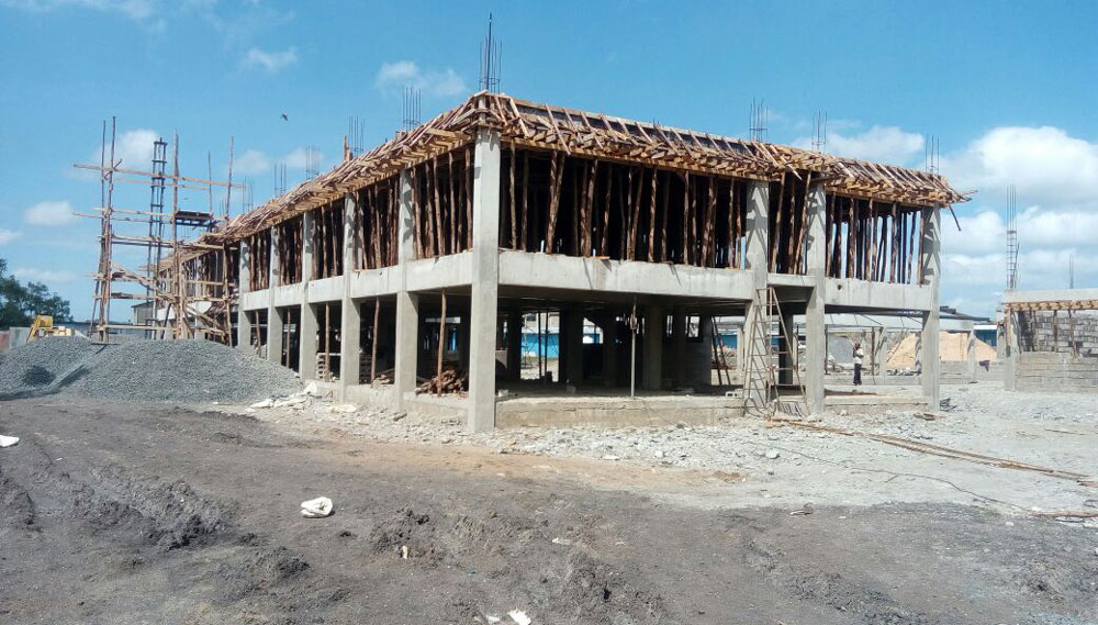 Secondary School Construction Progress - Dec 2016