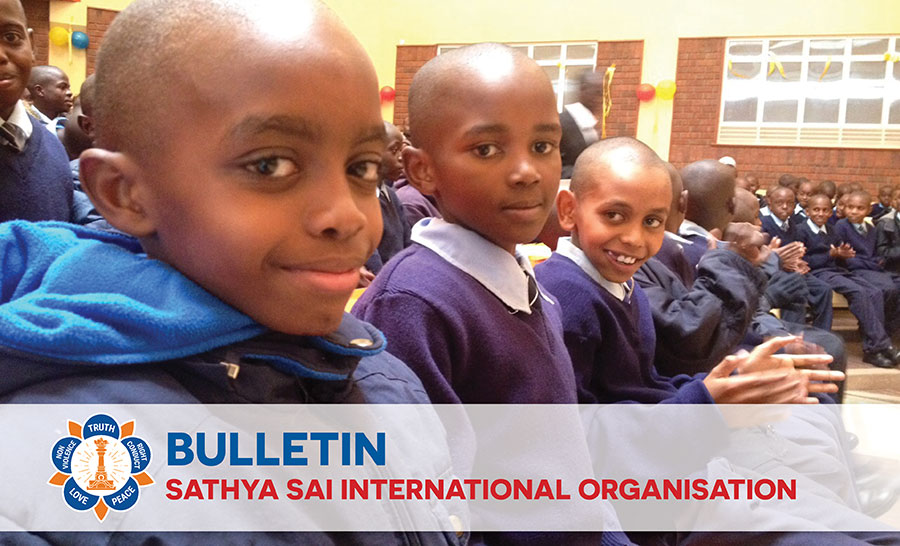 Sathya Sai School Kisaju featured in SSIO Bulletin