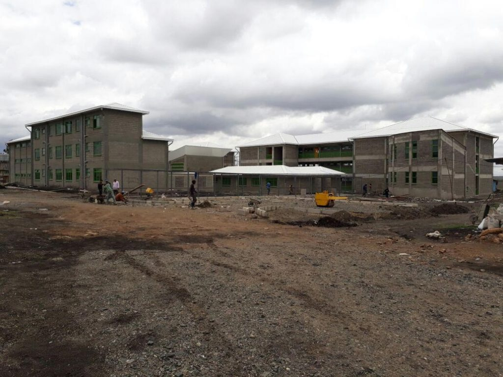 Secondary School Construction Progress – Oct 25, 2017