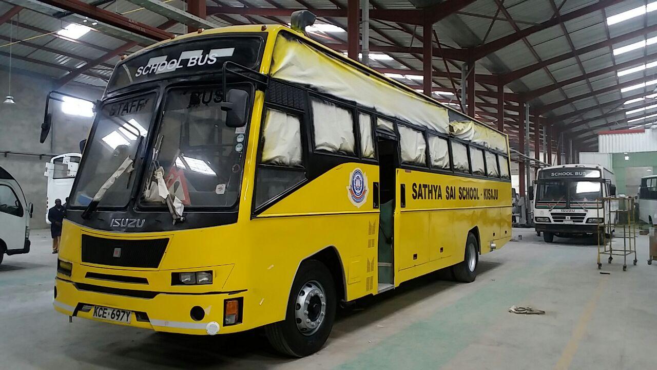 Sathya Sai School - Kisaju Bus