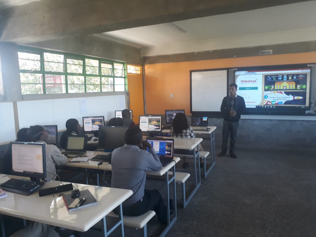Training in the ERP for the School