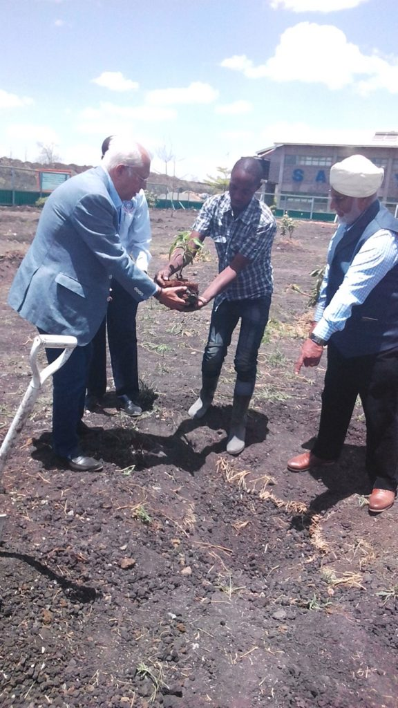Tree Planting by Mr. Ramesh Hathiramani - Mar 2019