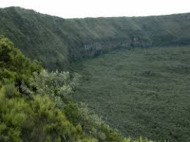 A second picture of Mt. Longonot crater
