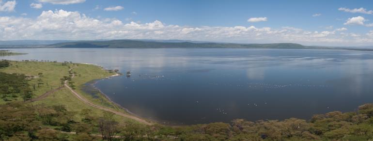 An image of lake Naivasha
