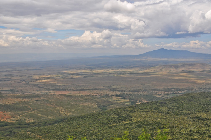 a view of mount longonot